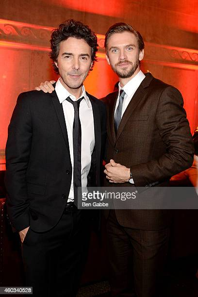 Director Shawn Levy and actor Dan Stevens attend the 'Night At The Museum Secret Of The Tomb' New York Premiere after party at the American Museum of...