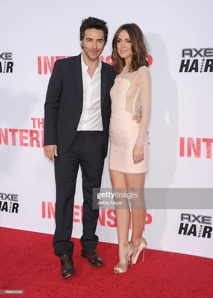 Director Shawn Levy and actress Rose Byrne arrive at 'The Internship' - Los Angeles Premiere at Regency Village Theatre on May 29, 2013 in Westwood, California.