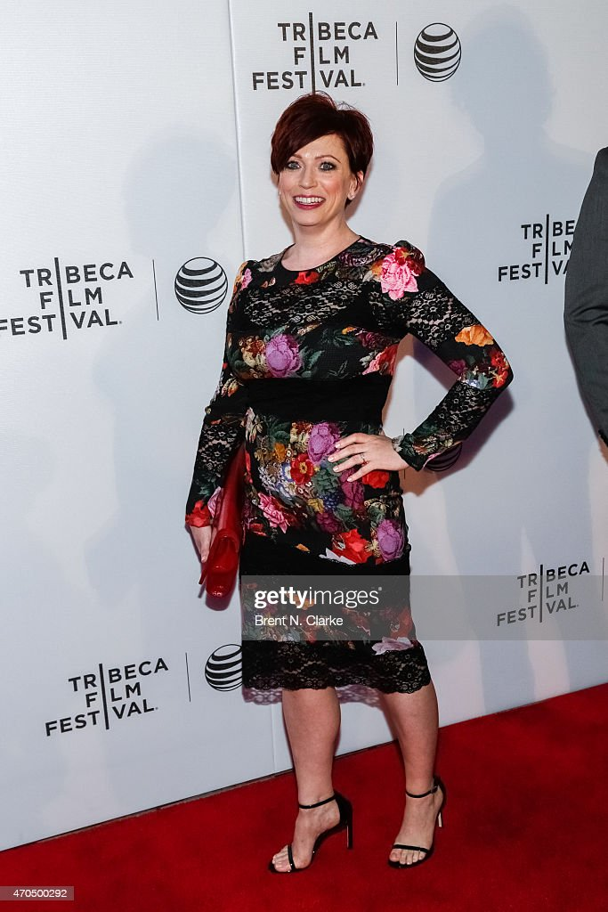 Director Sheena M. Joyce arrives for the World Premiere Narrative: 'Slow Learners' during the 2015 Tribeca Film Festival held at Regal Battery Park 11 on April 20, 2015 in New York City.