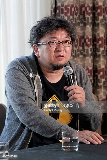 Director Shinji Higuchi attends the 'ATTACK ON TITAN' World Premiere press conference on July 14 2015 in Hollywood California