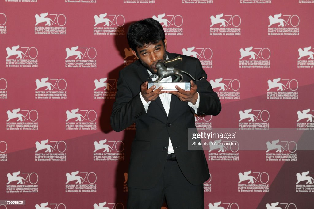 Director Shubhashish Bhutiani attends Award Winners Photocall during the 70th Venice International Film Festival at Palazzo del Casino on September 7, 2013 in Venice, Italy.