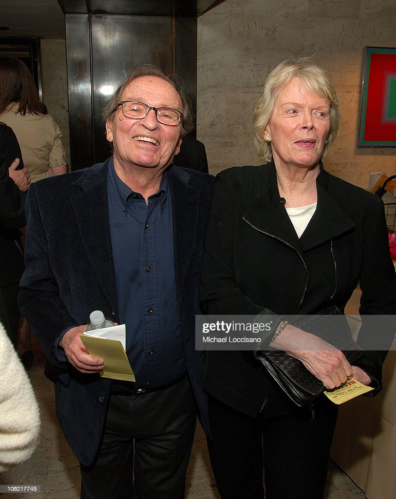 Director Sidney Lumet and guest attend the after party for the New York premiere of HBO Films' 'Recount', at The Four Seasons Restaurant in New York City on May 13, 2008.