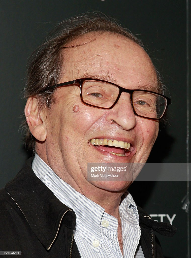 Director Sidney Lumet attend the Cinema Society and BlackBerry Torch screening of 'You Will Meet a Tall Dark Stranger' at MOMA on September 14, 2010 in New York City.