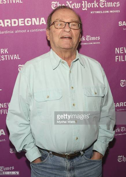 Director Sidney Lumet attends the 45th New York Film Festival press conference for Before the Devil Knows You're Dead on September 19 2007 in New...