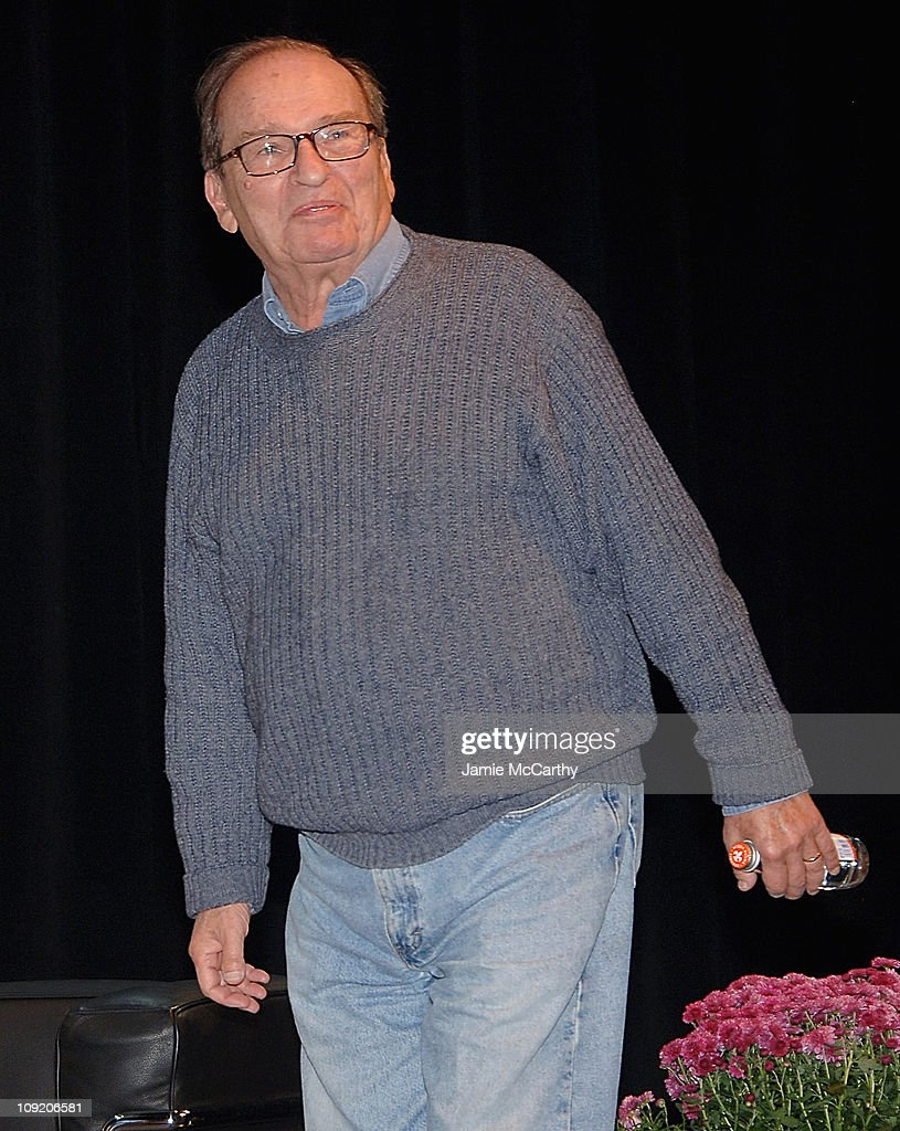 Director <a gi-track='captionPersonalityLinkClicked' href=/galleries/search?phrase=Sidney+Lumet&family=editorial&specificpeople=214143 ng-click='$event.stopPropagation()'>Sidney Lumet</a> attends the Hamptons Film Festival - Conversation with <a gi-track='captionPersonalityLinkClicked' href=/galleries/search?phrase=Sidney+Lumet&family=editorial&specificpeople=214143 ng-click='$event.stopPropagation()'>Sidney Lumet</a> interviewed by Adam Green on October 19, 2007 at the Bay Street Theater, New York.