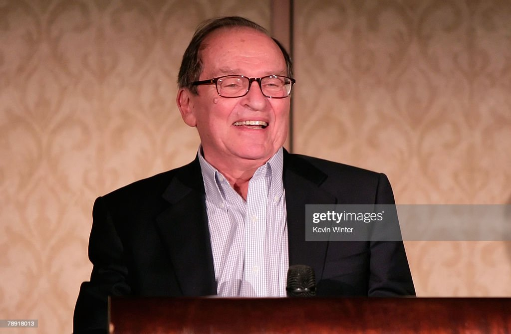 Director Sidney Lumet winner of the LA Film Critic's Career Achievement Award speaks at the 2007 LA Film Critic's Choice Awards held at the InterContinental on January 12, 2008 in Los Angeles, California.
