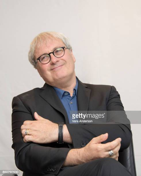 Director Simon Curtis at the 'Goodbye Christopher Robin' Press Conference at the Langham Hotel on September 19 2017 in London England