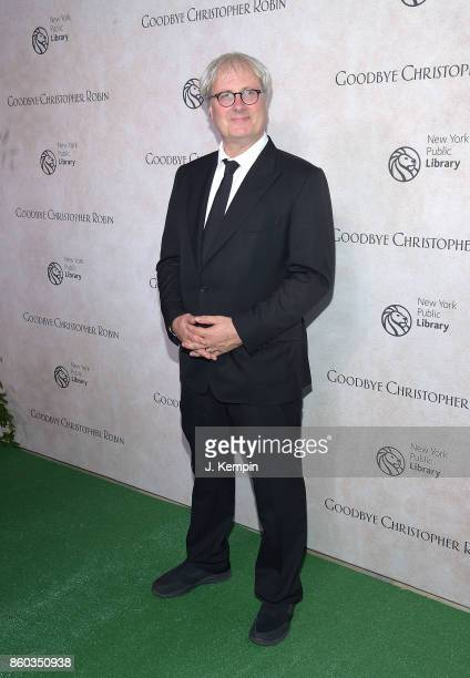 Director Simon Curtis attends the 'Good Bye Christopher Robin' New York Special Screening at The New York Public Library on October 11 2017 in New...