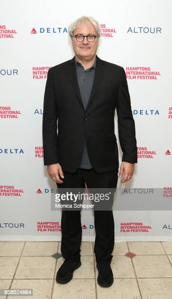 Director Simon Curtis attends the photo call for 'GoodBye Chrisopher Robin' at Southampton UA4 Theatre 1 during Hamptons International Film Festival...