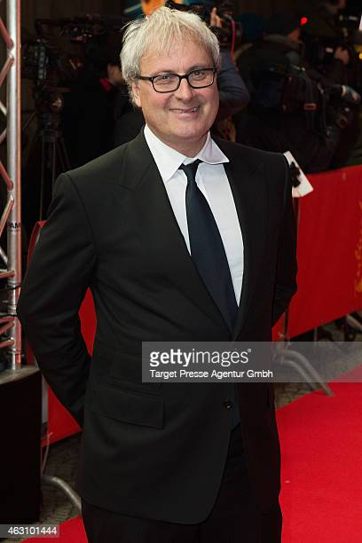 Director Simon Curtis attends the 'Woman in Gold' premiere during the 65th Berlinale International Film Festival at FriedrichstadtPalast on February...