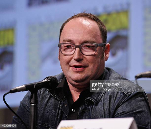 Director Simon J Smith at DreamWorks Animation Presentation of 'The Penguins of Madagascar' ComicCon International 2014 held at the San Diego...