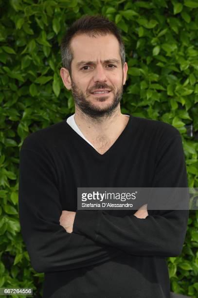 Director Simone Godano attends a photocall for 'Moglie E Marito' on April 11 2017 in Milan Italy