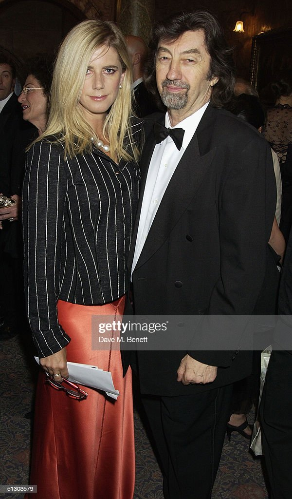 Director Sir Trevor Nunn and wife actress Imogen Stubbs attend the Royal Gala Premiere of Lord Andrew Lloyd Webber's new musical 'The Woman In White' at the Palace Theatre, Shaftesbury Avenue on September 13, 2004 in London.