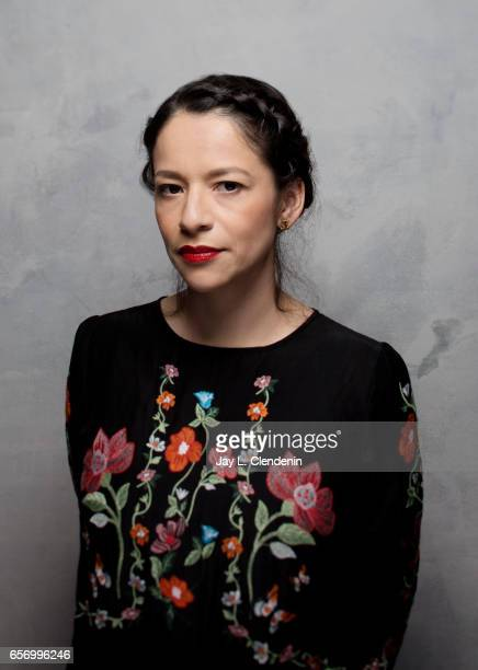 Director Sofia Carrillo from the film XX is photographed at the 2017 Sundance Film Festival for Los Angeles Times on January 22 2017 in Park City...