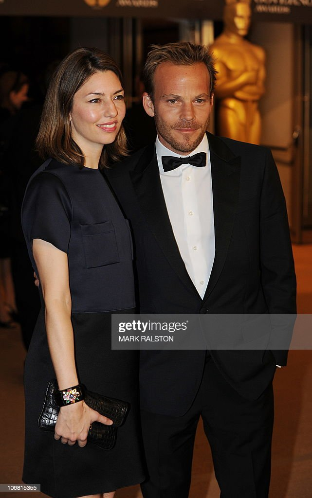 Director Sofia Coppola and actor Stephen Dorff arrive on the red carpet for the 2010 Oscars Governors Ball at the Hollywood and Highland Center in Hollywood on November 13, 2010. AFP PHOTO/Mark RALSTON