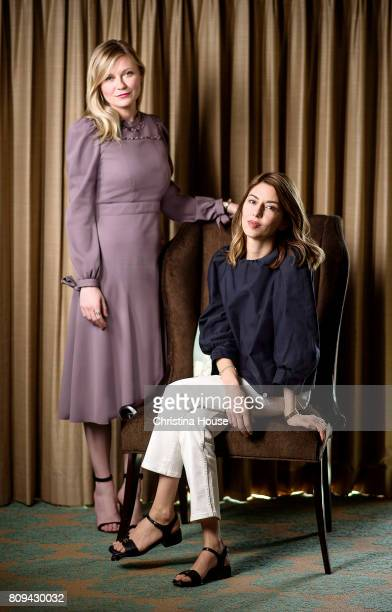 Director Sofia Coppola and actress Kirsten Dunst are photographed for Los Angeles Times on June 11 2017 in Los Angeles California PUBLISHED IMAGE...
