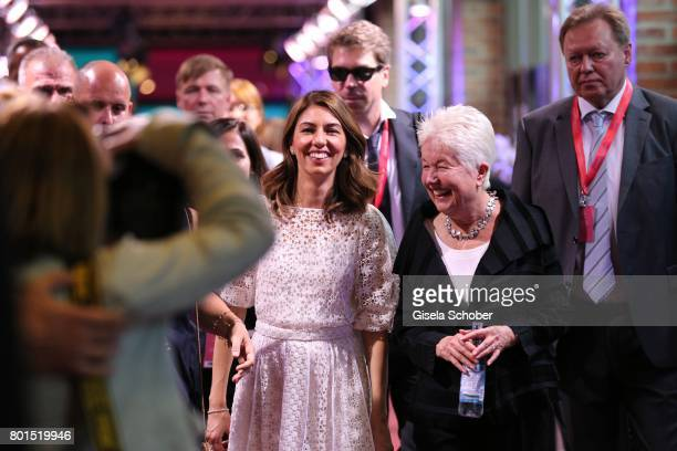 Director Sofia Coppola and her mother Eleanor Coppola attend the premiere of the movie 'Die Verfuehrten' during the film festival Munich at Gasteig...
