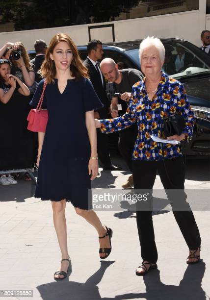 Director Sofia Coppola and her mother Eleonor Coppola attends the Chanel Haute Couture Fall/Winter 20172018 show as part of Paris Fashion Week on...