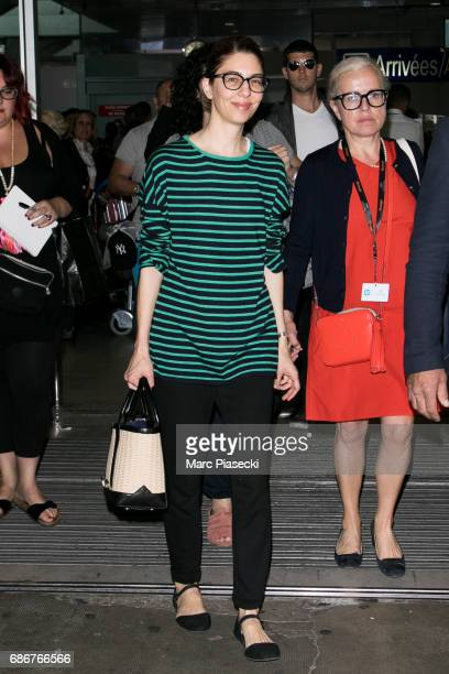 Director Sofia Coppola arrives at Nice airport during the 70th annual Cannes Film Festival at on May 22 2017 in Cannes France
