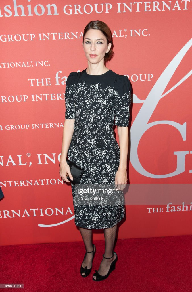 Director <a gi-track='captionPersonalityLinkClicked' href=/galleries/search?phrase=Sofia+Coppola&family=editorial&specificpeople=202230 ng-click='$event.stopPropagation()'>Sofia Coppola</a> attend the 30th Annual Night Of Stars presented by The Fashion Group International at Cipriani Wall Street on October 22, 2013 in New York City.