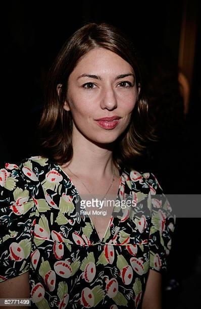 Director Sofia Coppola attends Le Mer Celebrates 'Liquid Light' By Fabien Baron at The Glass House on September 10 2008 in New York City
