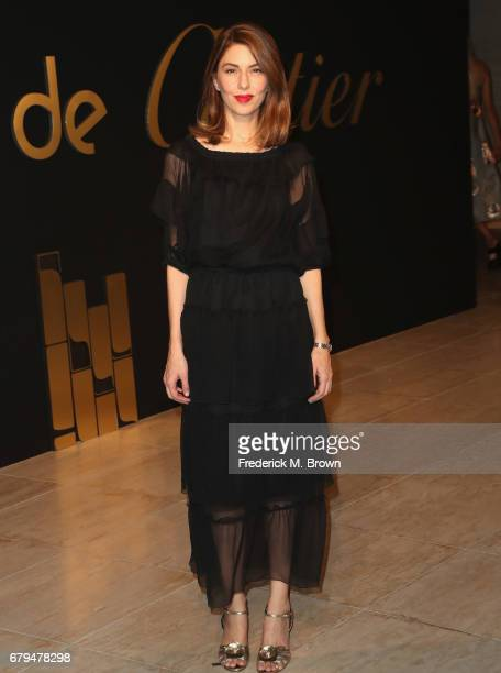Director Sofia Coppola attends Panthere De Cartier Party In LA at Milk Studios on May 5 2017 in Los Angeles California