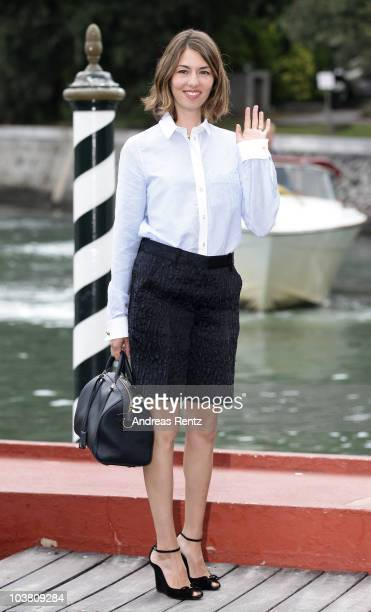 Director Sofia Coppola attends the 67th Venice Film Festival on September 3 2010 in Venice Italy