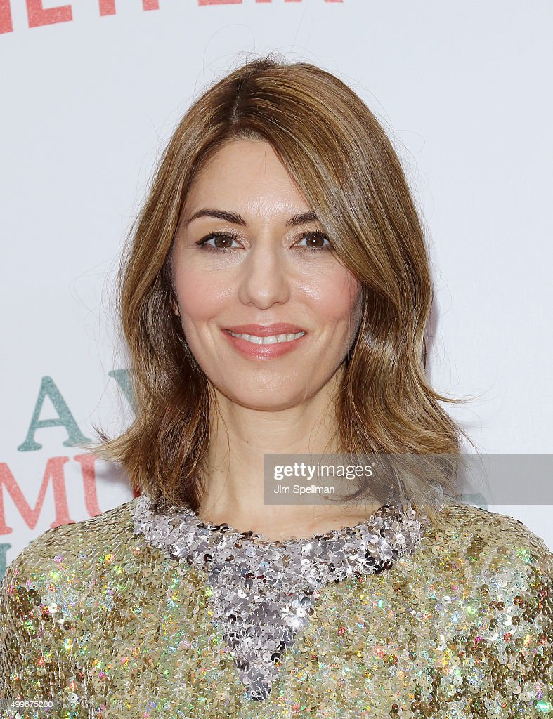 Director Sofia Coppola attends the 'A Very Murray Christmas' New York premiere at Paris Theater on December 2, 2015 in New York City.
