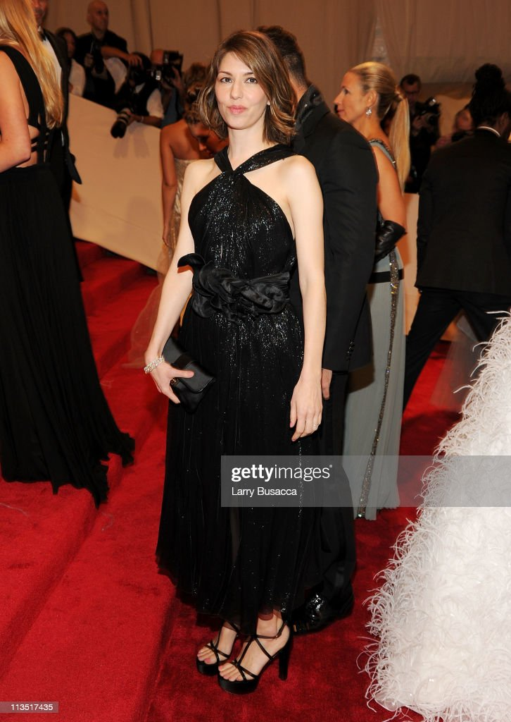Director Sofia Coppola attends the 'Alexander McQueen: Savage Beauty' Costume Institute Gala at The Metropolitan Museum of Art on May 2, 2011 in New York City.
