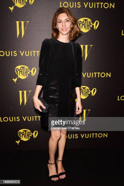 Director Sofia Coppola attends The Bling Ring Party hosted by Louis Vuitton during the 66th Annual Cannes Film Festival at Club d'Albane/JW Marriott...
