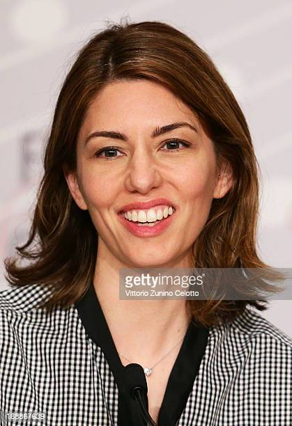 Director Sofia Coppola attends 'The Bling Ring' press conference during the 66th Annual Cannes Film Festival at Palais des Festival on May 16 2013 in...