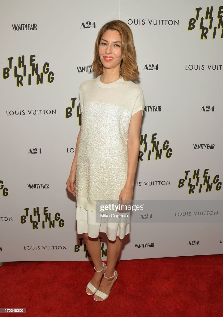 Director <a gi-track='captionPersonalityLinkClicked' href=/galleries/search?phrase=Sofia+Coppola&family=editorial&specificpeople=202230 ng-click='$event.stopPropagation()'>Sofia Coppola</a> attends 'The Bling Ring' screening at Paris Theatre on June 11, 2013 in New York City.