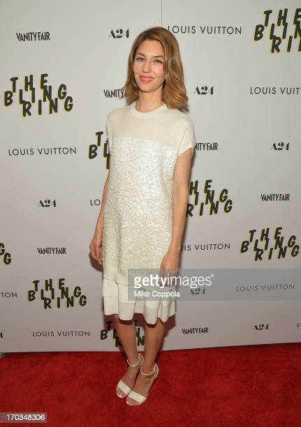 Director Sofia Coppola attends 'The Bling Ring' screening at Paris Theatre on June 11 2013 in New York City