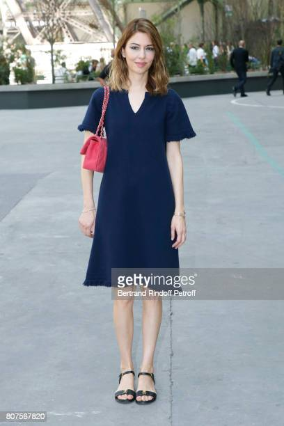 Director Sofia Coppola attends the Chanel Haute Couture Fall/Winter 20172018 show as part of Haute Couture Paris Fashion Week on July 4 2017 in Paris...