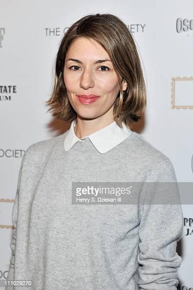 Director Sofia Coppola attends The Cinema Society Nancy Gonzalez screening of 'Meek's Cutoff' at Landmark Sunshine Cinema on March 28 2011 in New...