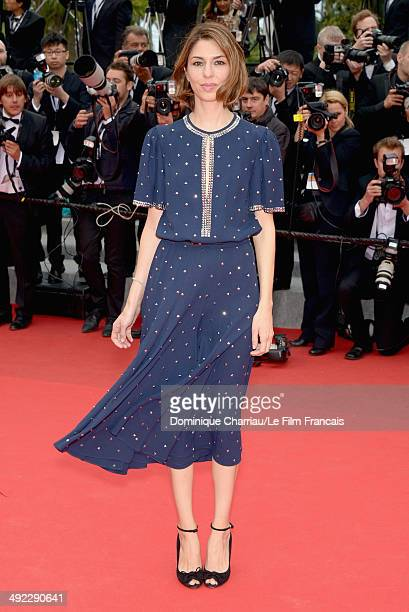 Director Sofia Coppola attends the 'Foxcatcher' Premiere at the 67th Annual Cannes Film Festival on May 19 2014 in Cannes France