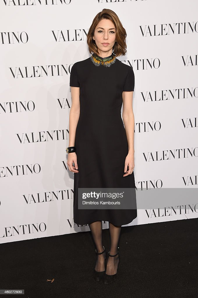 Director Sofia Coppola attends the Valentino Sala Bianca 945 Event on December 10, 2014 in New York City.