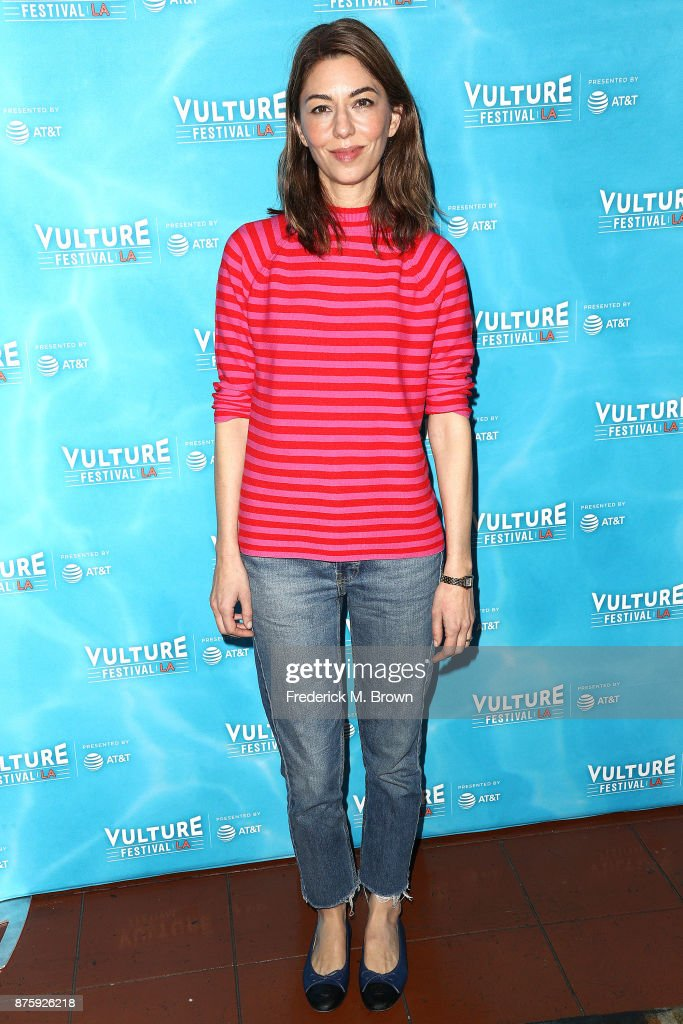 Director Sofia Coppola attends the Vulture Festival Los Angeles at the Hollywood Roosevelt Hotel on November 18, 2017 in Hollywood, California.
