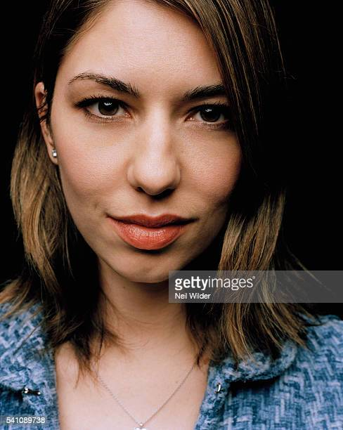 Director Sofia Coppola poses for Newsweek International on January 24 2004 in Los Angeles CA