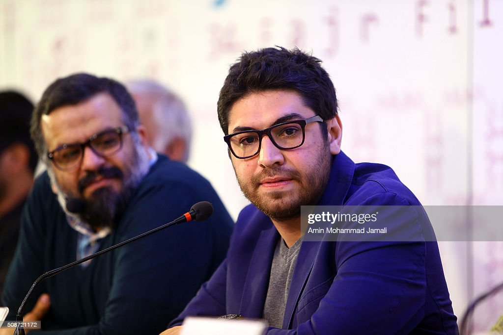 Director Soheil Beiraghi attends a press conference as part of the 34rd Fajr International Film Festival on February 6, 2016 in Tehran, Iran.
