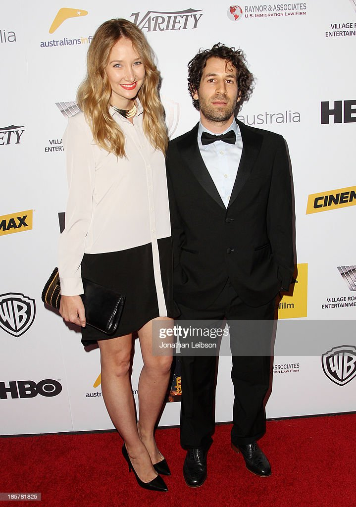 Director Spencer Susser (R) and guest attend the 2nd Annual Australians in Film Awards Gala at Intercontinental Hotel on October 24, 2013 in Beverly Hills, California.
