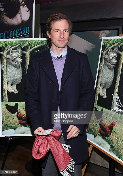 Director Spike Jonze attends a special screening of 'Tell Them Anything You Want' at the IFC Center on February 24 2010 in New York City