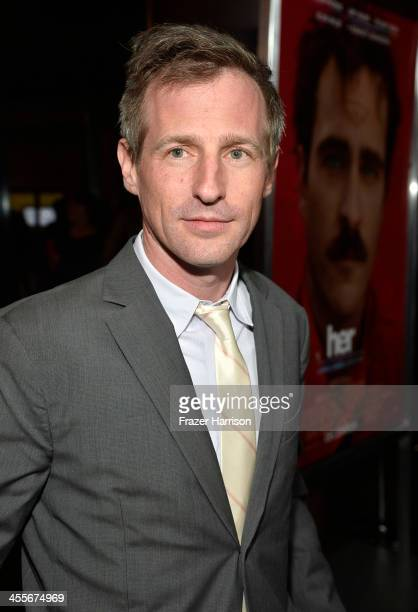 Director Spike Jonze attends the premiere of Warner Bros Pictures 'Her' at DGA Theater on December 12 2013 in Los Angeles California