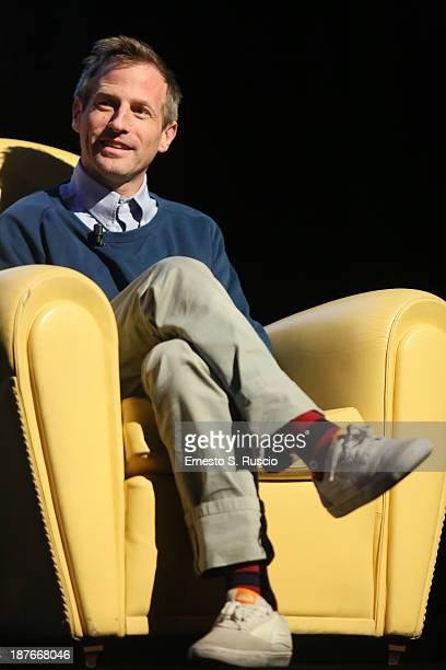 Director Spike Jonze Meets The Audience during the 8th Rome Film Festival at the Auditorium Parco Della Musica on November 11 2013 in Rome Italy