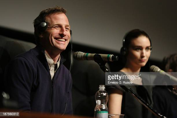 Director Spike Jonze speaks at the 'Her' Press Conference during the 8th Rome Film Festival at the Auditorium Parco Della Musica on November 10 2013...