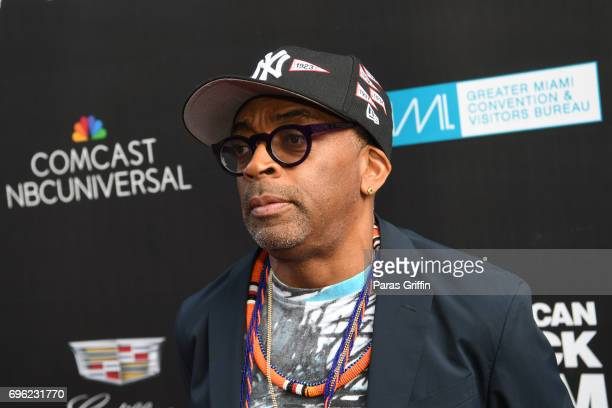 Director Spike Lee attends 2017 American Black Film Festival 'Girls Trip' Red Carpet Screening at Olympia Theater At Gusman Hall on June 14 2017 in...
