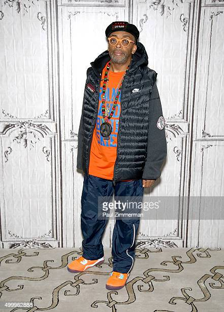 Director Spike Lee attends AOL BUILD Presents Spike Lee 'CHIRAQ' at AOL Studios In New York on December 4 2015 in New York City