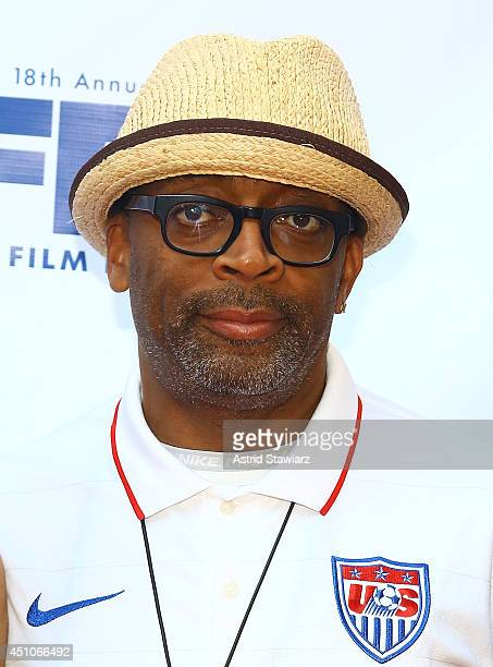 Director Spike Lee attends 'Da Sweet Blood Of Jesus' world premiere during the 2014 American Black Film Festival at Metropolitan Pavilion on June 22...