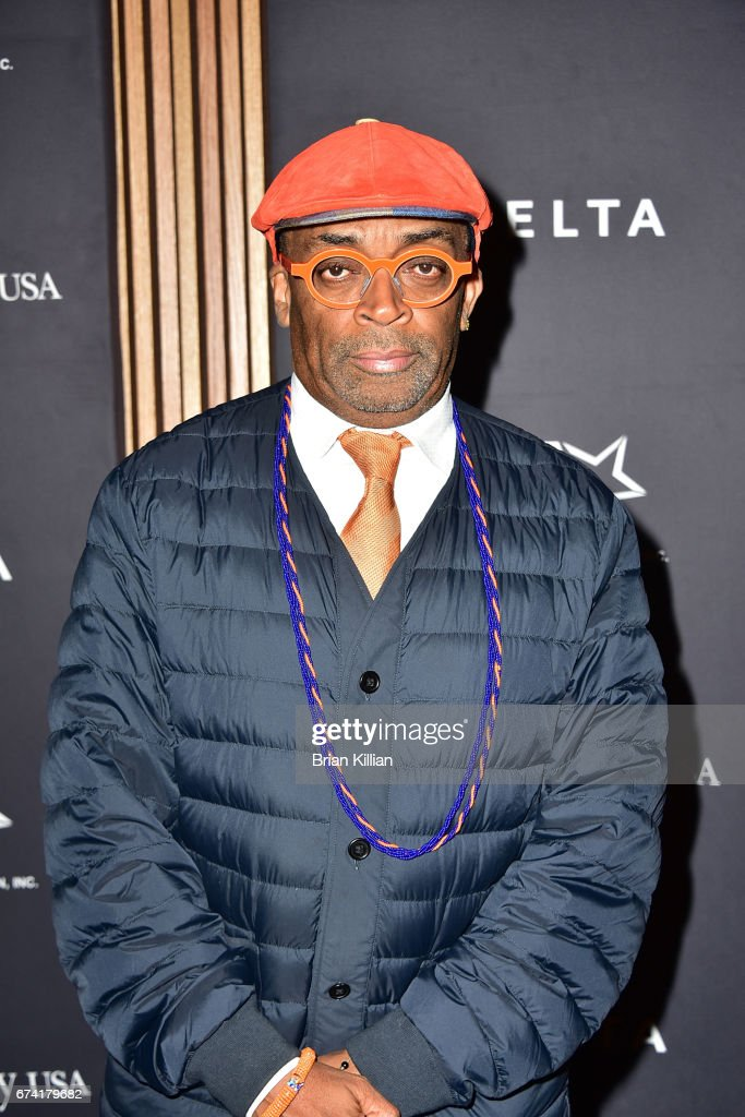 Director Spike Lee attends the 2017 Jesse Owens International Athlete Trophy Gala at Jazz at Lincoln Center on April 27, 2017 in New York City.