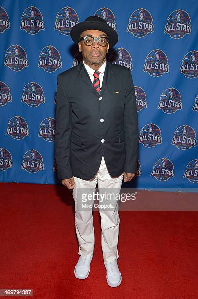 Director Spike Lee attends the 63rd NBA AllStar Game 2014 at the Smoothie King Center on February 16 2014 in New Orleans Louisiana